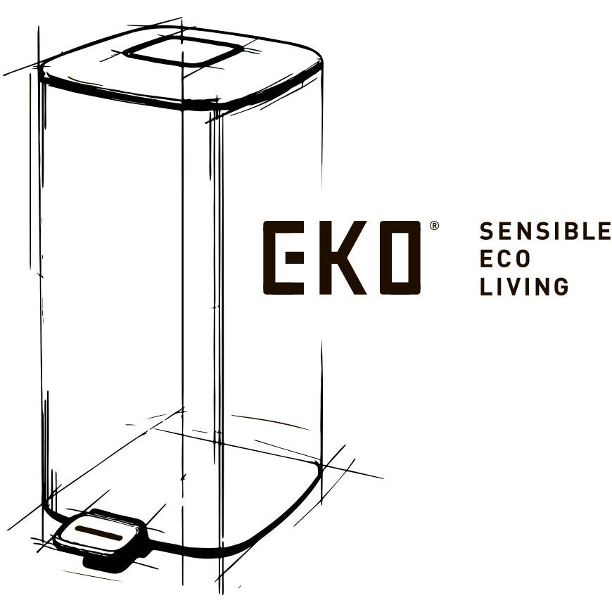 Современные технологичные мусорные ведра EKO™