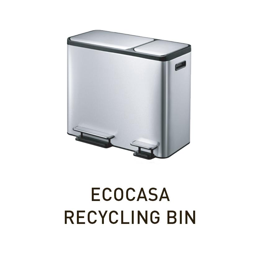 Современное мусорное ведро для раздельного сбора мусора EKO 9128| EKO RUSSIA