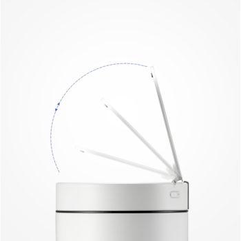 Сенсорное мусорное ведро EKO EK9286-WH (Белое)