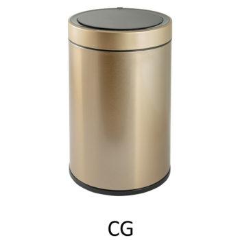 Сенсорное мусорное ведро EKO EK9286-CG (Золотая шампань)